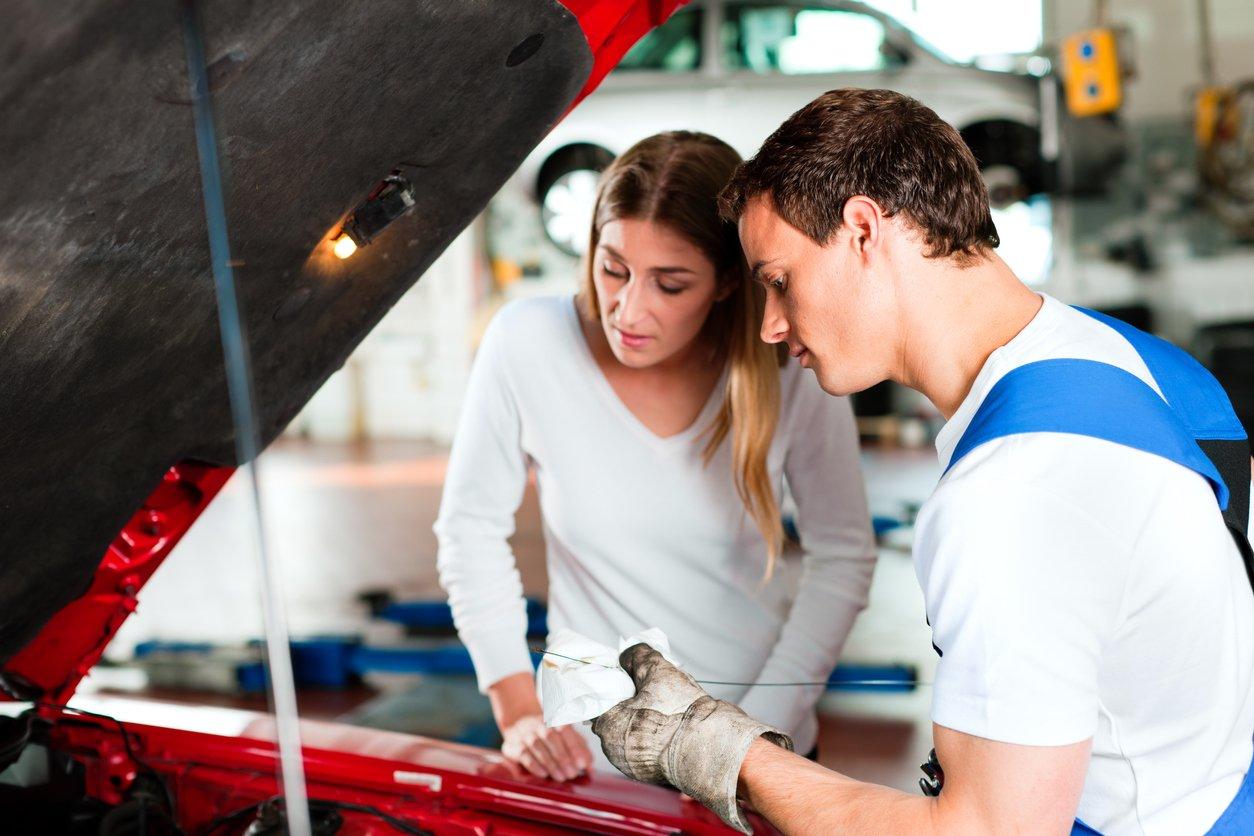 auto repair shop customers