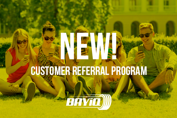 BAYiQ Introduces Customer Referrals