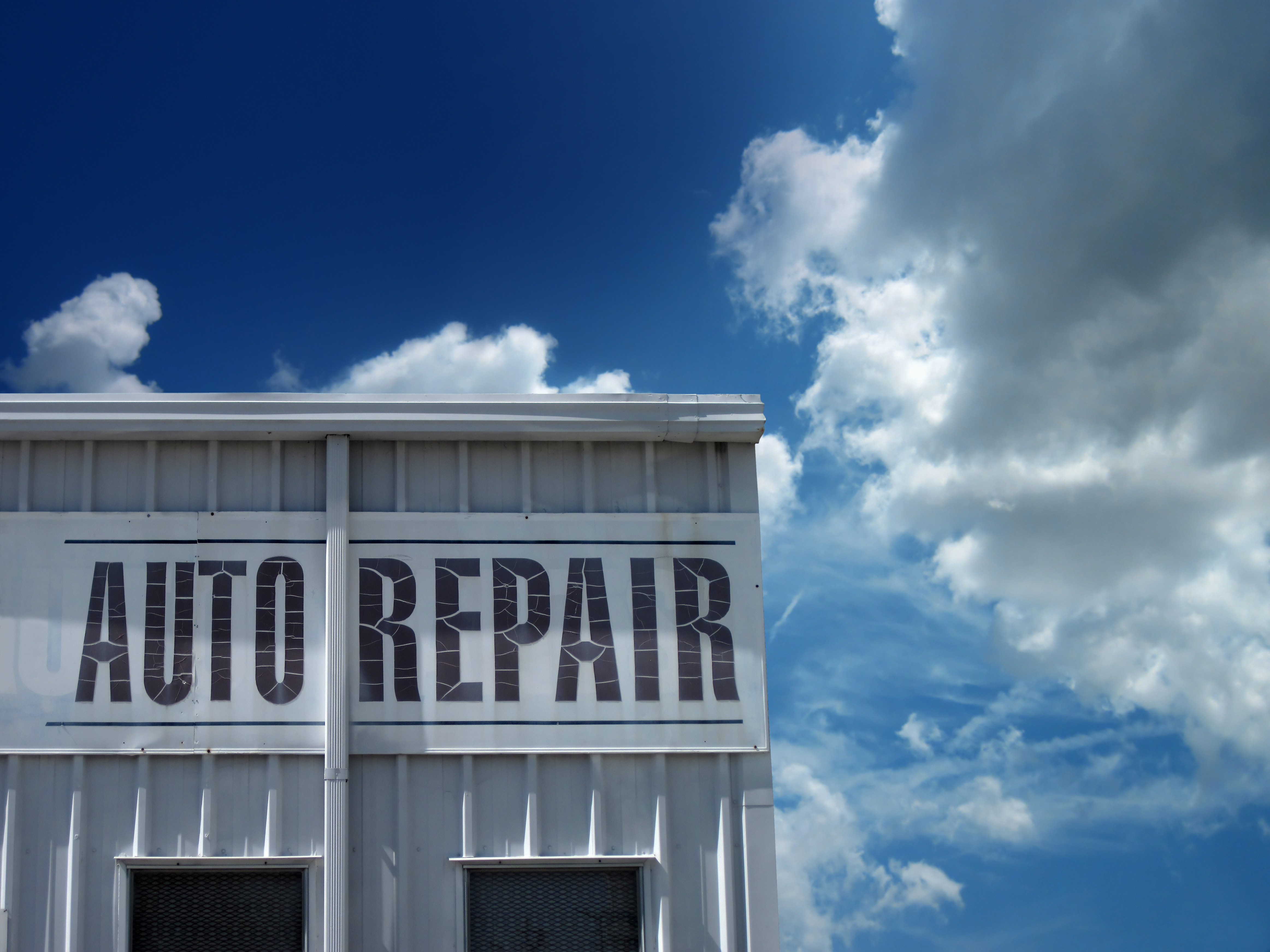 auto repair sign ideas